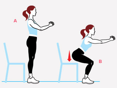 4 ways to improve your squats by TWC Ibiza personal trainer Katie Bolt |  TWC Ibiza